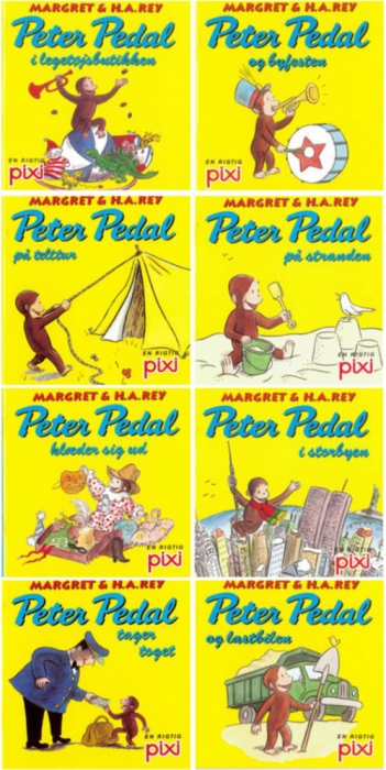Image of   Pixi serie 110 - Peter Pedal (Bog)