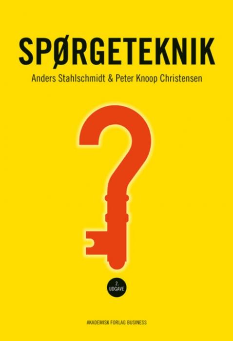 Image of Spørgeteknik (Bog)