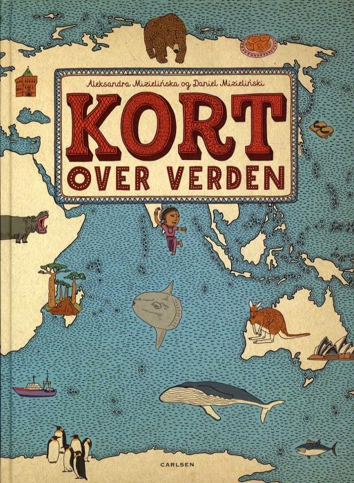Image of Kort over verden (Bog)
