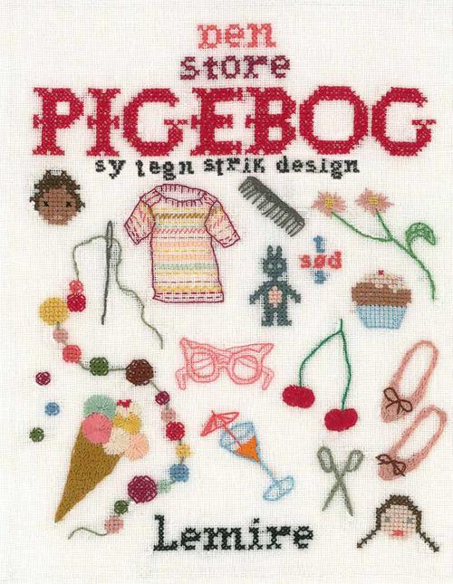 Image of   Den store pigebog - sy - strik - tegn - design (Bog)