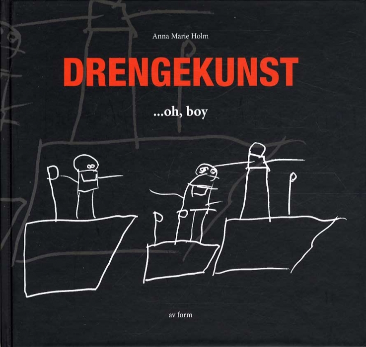 Image of   Drengekunst (Bog)