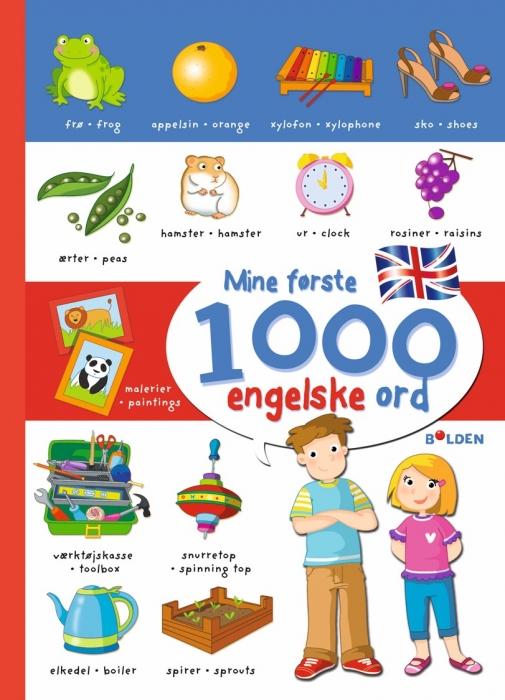 Mine første 1000 engelske ord (Bog)