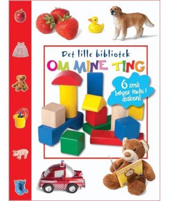 Image of   Det lille bibliotek om mine ting (Bog)
