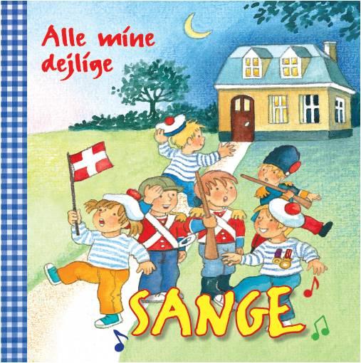 Image of   Alle mine dejlige sange (Bog)