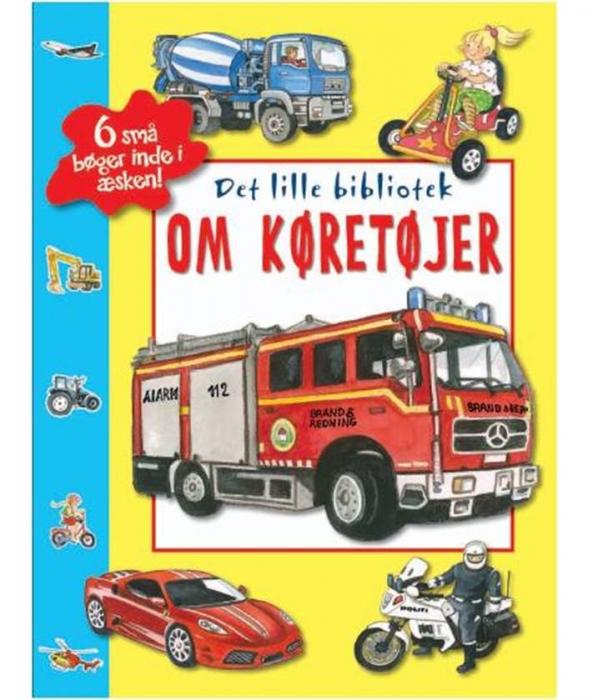 Image of   Det lille bibliotek om køretøjer (Bog)