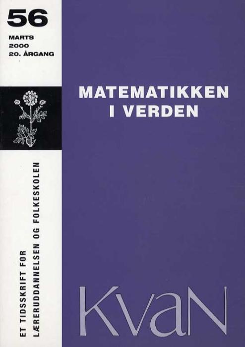 Kvan 56 - Matematikken i verden (Bog)