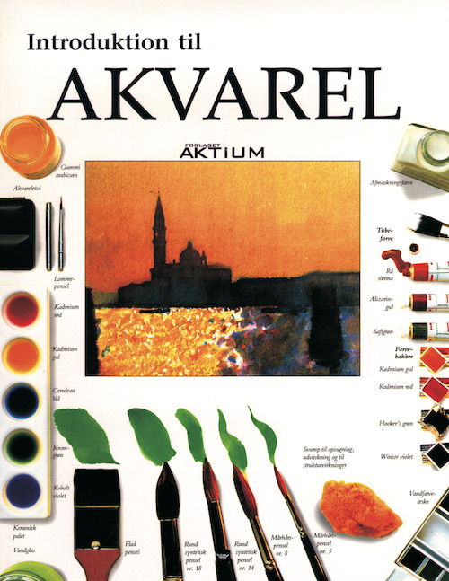 Image of   Introduktion til akvarel (Bog)