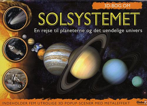 Image of   3D Bog om Solsystemet (Bog)
