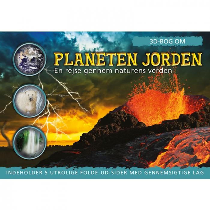 Image of   3D-bog om planeten Jorden (Bog)