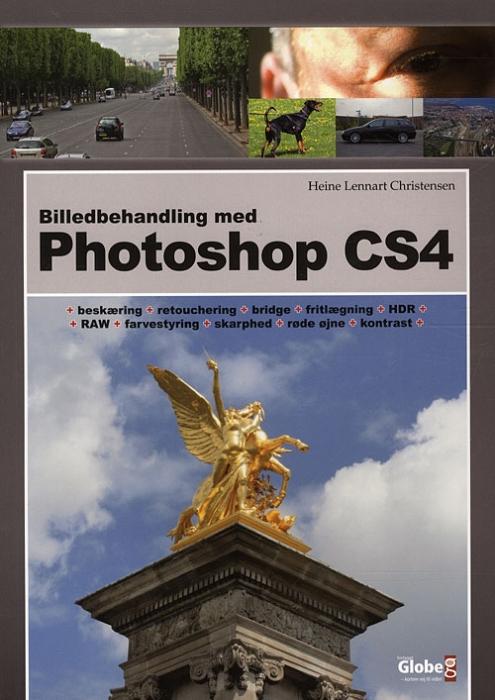 Image of   Billedbehandling med Photoshop CS4 (Bog)