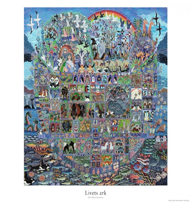 Billede af Livets ark plakat -Plakat (Bog)