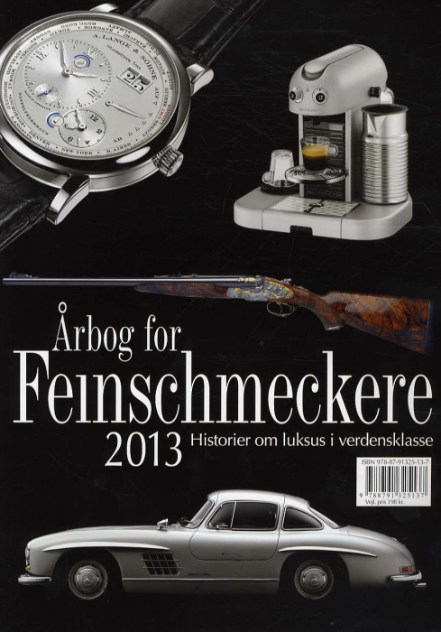 Årbog for Feinschmeckere 2013 (Bog)