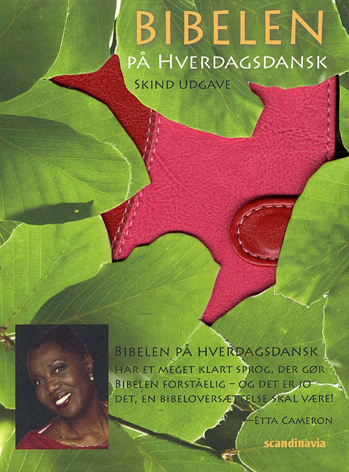 Image of   Bibelen på hverdagsdansk, lomme, rød med magnetlås (Bog)