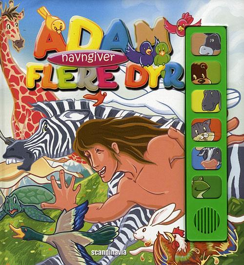 Image of   Adam navngiver flere dyr (Bog)
