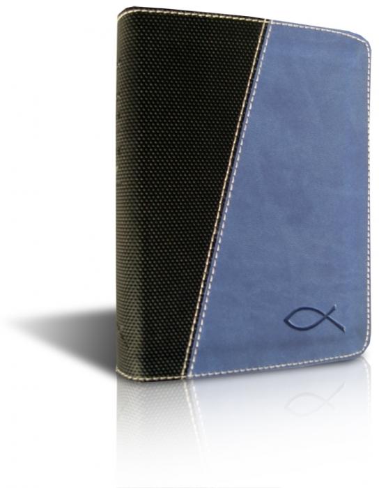 Image of   Bibelen på hverdagsdansk, lomme, blåt skind (Bog)