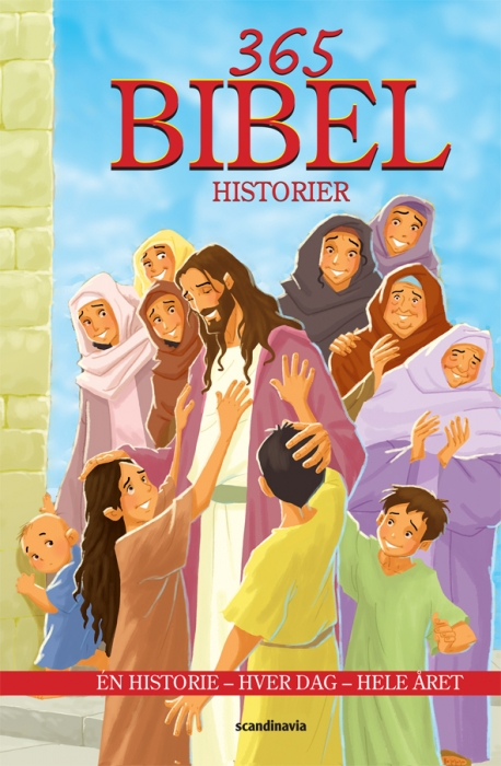 Image of   365 Bibelhistorier (Bog)