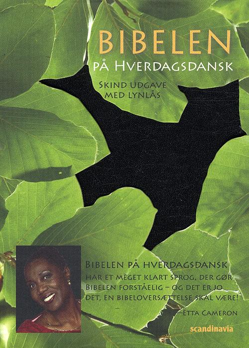Image of   Bibelen på hverdagsdansk, lomme, sort skind m/ lynlås (Bog)