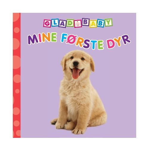 Image of   Glad Baby - Mine første dyr (Bog)