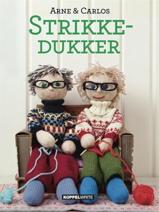Image of Strikkedukker (Bog)