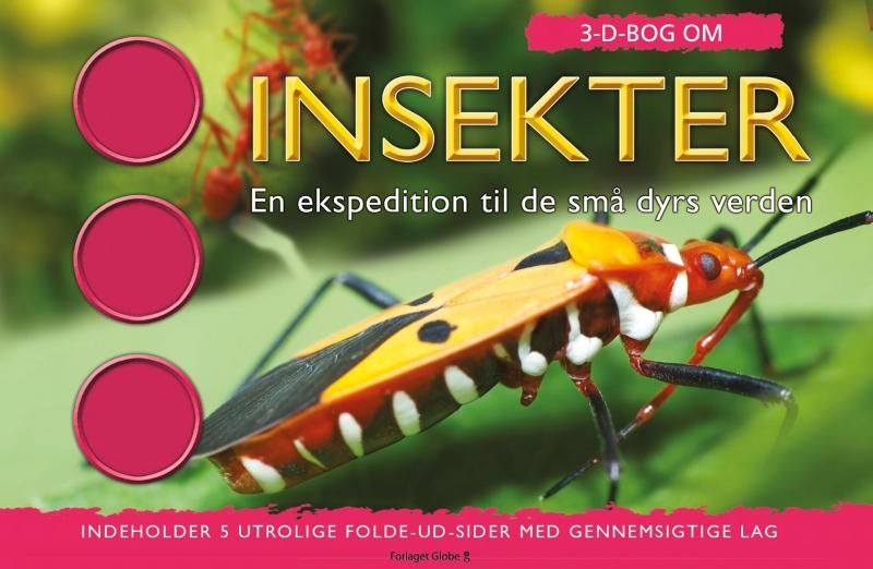 Image of   3D Bog om Insekter (Bog)