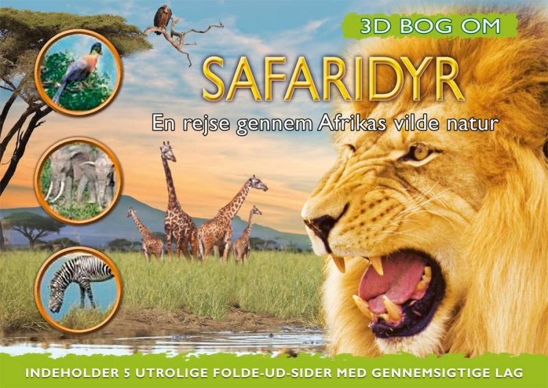 Image of   3D bog om Safaridyr (Bog)