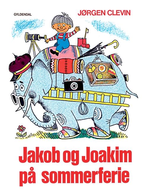 Tidssvarende Jakob og Joakim på sommerferie af Jørgen Clevin som bog MV-83