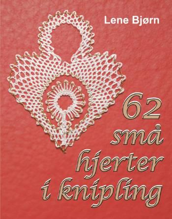 Image of   62 små hjerter i knipling (Bog)