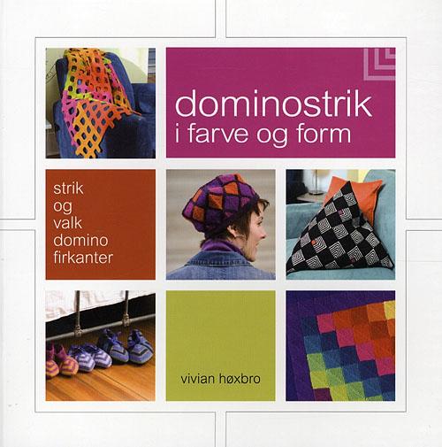 Image of   Domino-strik i farve og form (Bog)