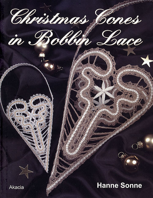 Image of   Christmas Cones in Bobbin Lace (Bog)