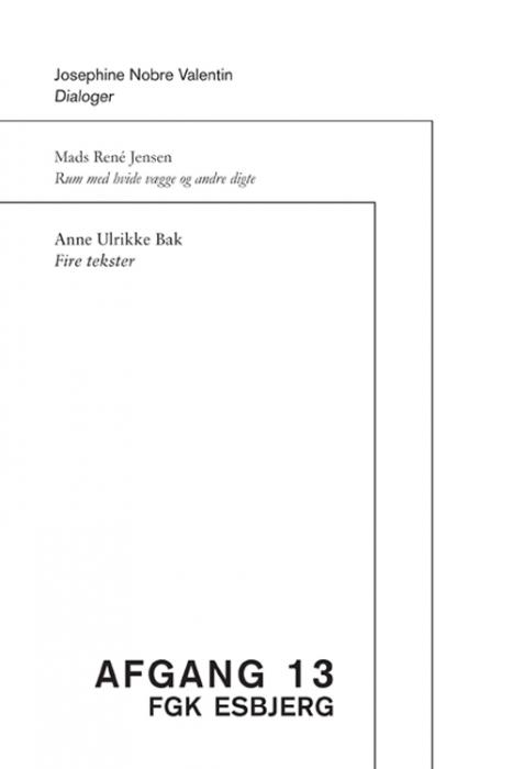 Image of Afgang 13 (Bog)