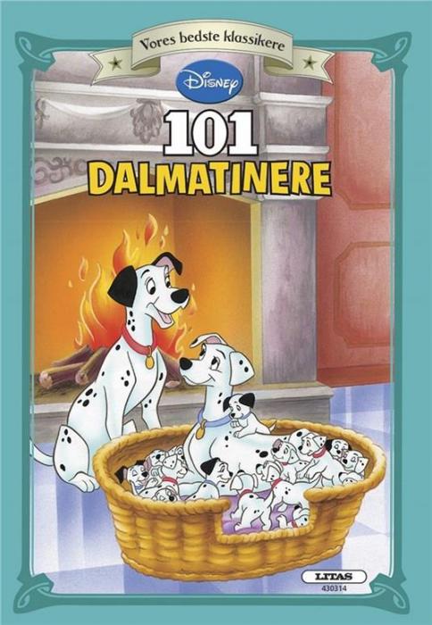 Image of   101 Dalmatiner (Bog)