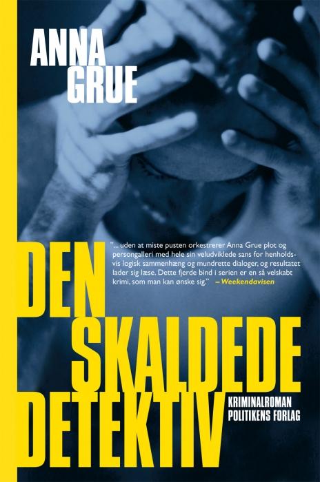 Image of Den skaldede detektiv (Bog)