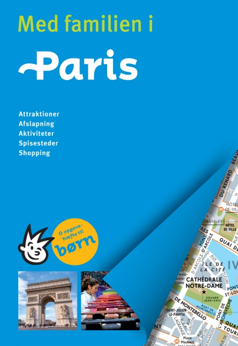Med familien i Paris (Bog)