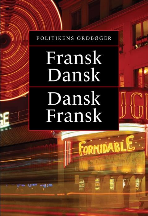 Politikens fransk-dansk, dansk-fransk (Bog)