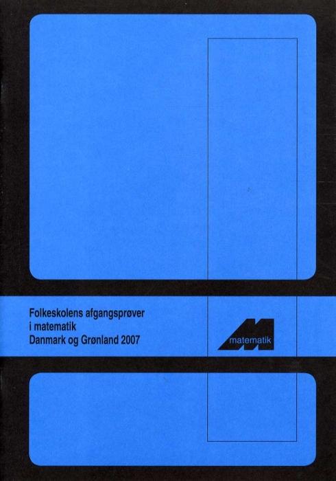 Folkeskolens Afgangsprøver 2007 (Bog)