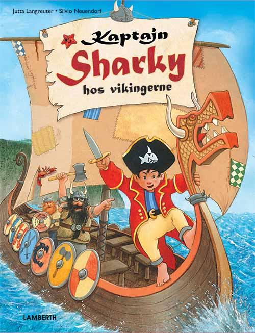 Kaptajn Sharky hos vikingerne (Bog)