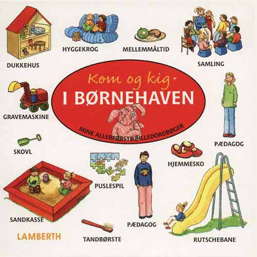 Image of Kom og kig i børnehaven (Bog)