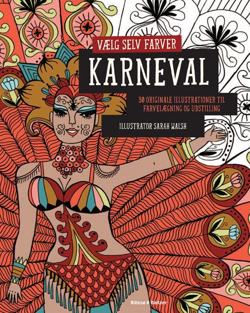 Image of   Vælg selv farver - Karneval (Bog)