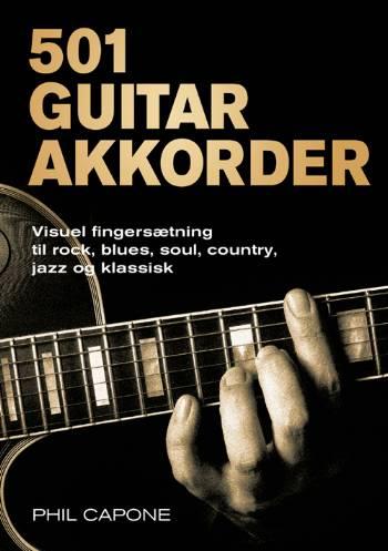 Image of   501 Guitarakkorder (Bog)
