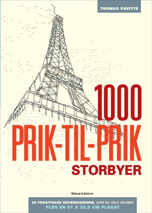 Image of   1000 prik-til-prik - Storbyer (Bog)