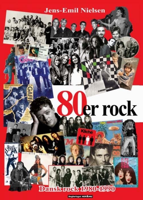 Image of   80´er rock (Bog)