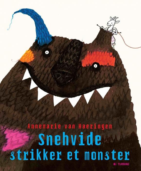 Image of Snehvide strikker et monster (Bog)
