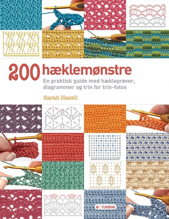 Image of   200 hæklemønstre (Bog)