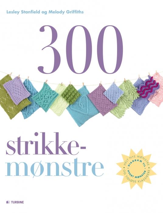 Image of   300 strikkemønstre (Bog)