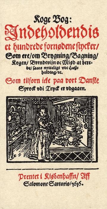 Image of Koge Bog, indeholdendis et hundrede fornødene Stycker, som ere om Brygning, Bagning, Kogen, Brendevijn oc Miød at berede, sa (Bog)