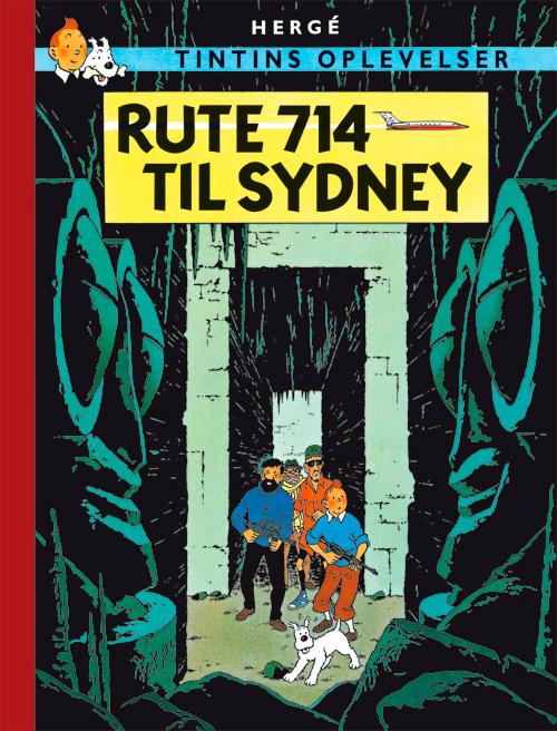 Tintins Oplevelser: Rute 714 til Sydney (Bog)