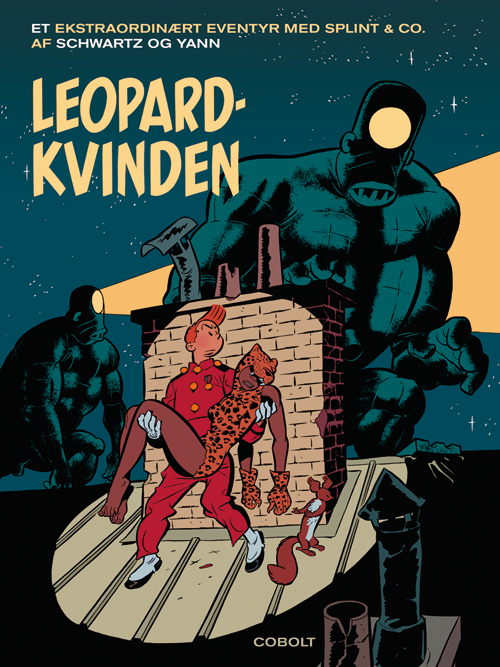 Splint & Co.: Leopardkvinden (Bog)