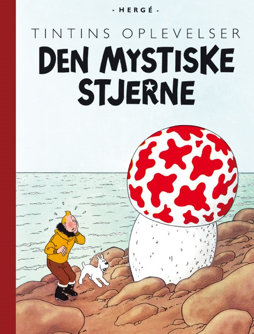 Tintins Oplevelser: Den mystiske stjerne (Bog)