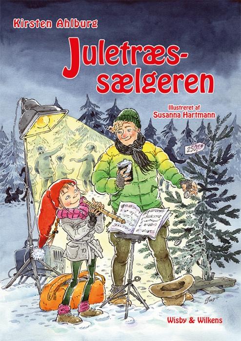 Billede af Juletræssælgeren (Bog)