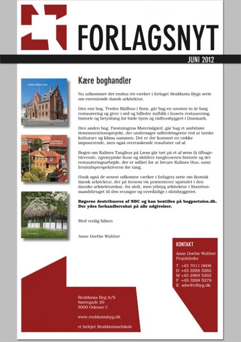 Image of ForlagsNYT Juni 2012 (Bog)